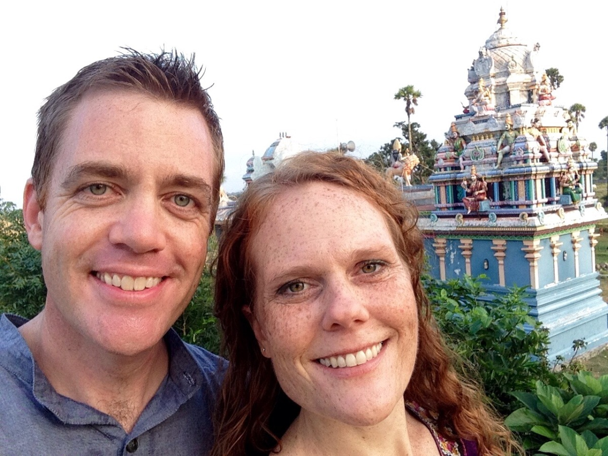 Divine Union: a Hindu temple-inspired reflection on twenty years of marriage.